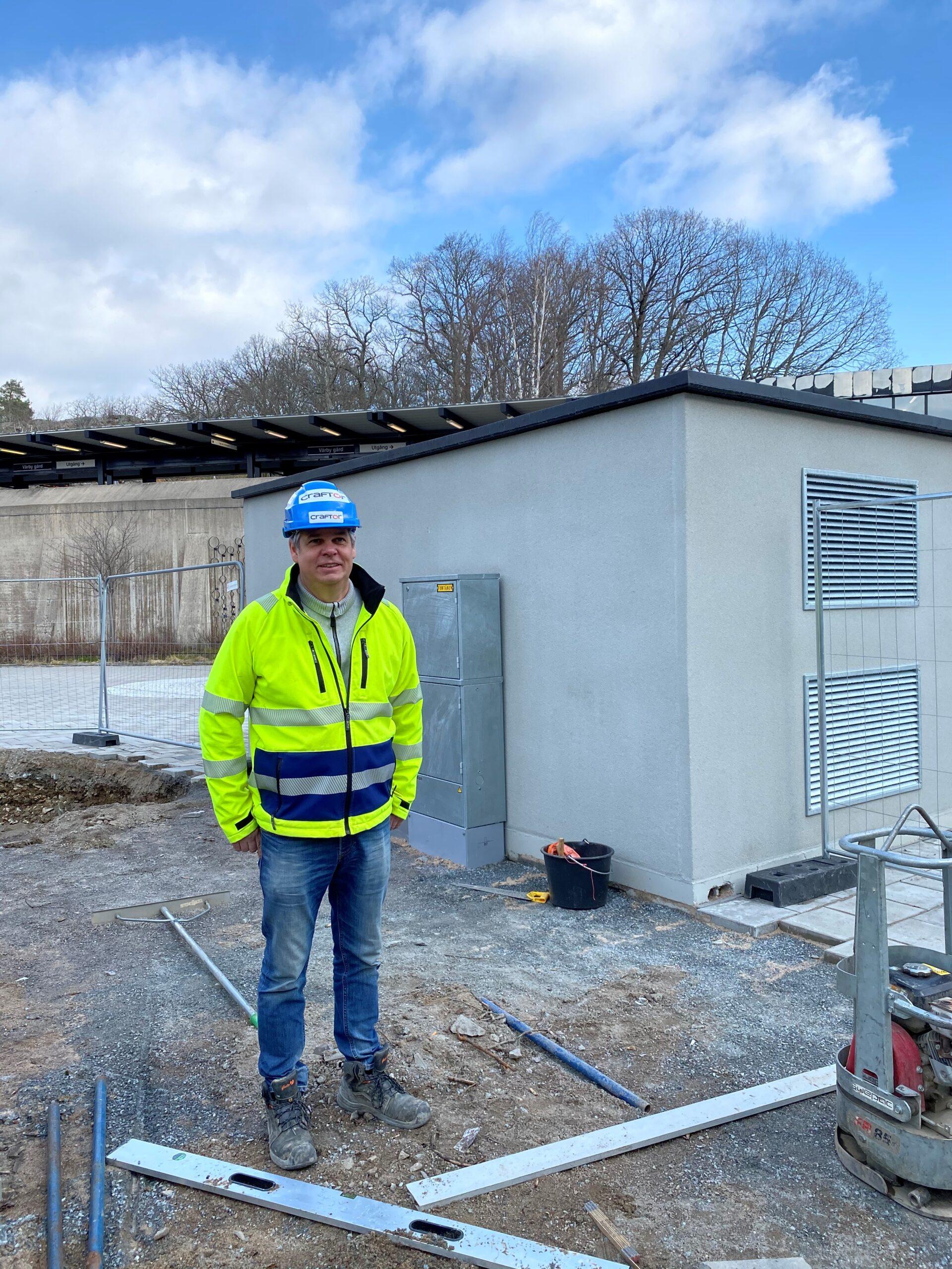 Karl Hultman utför Kabelförläggning i Stockholms Södra